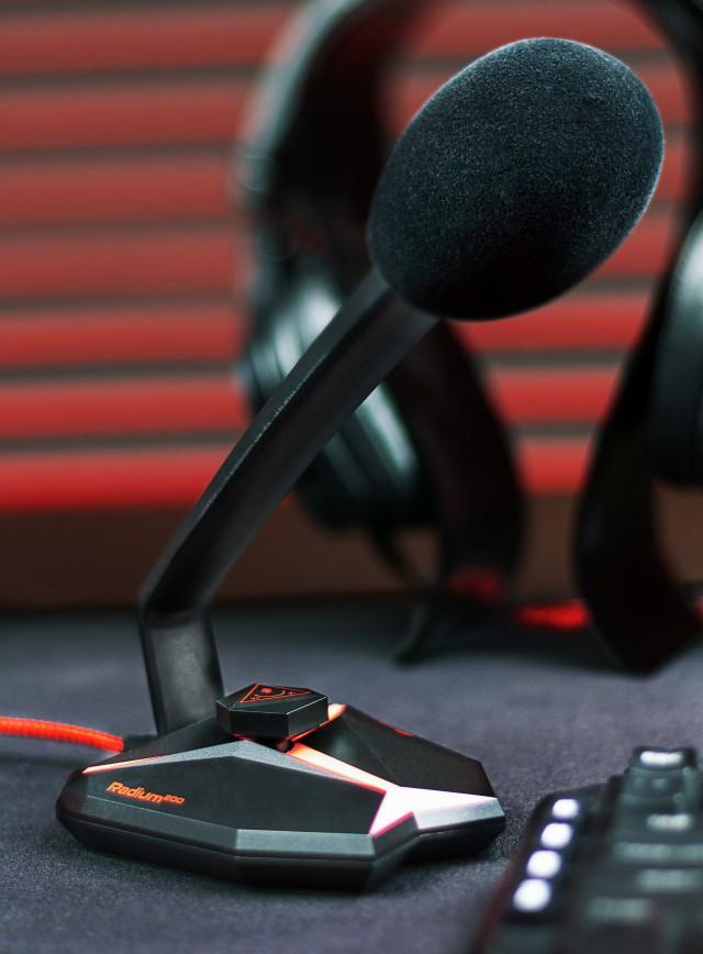 Test mikrofonów dla graczy
